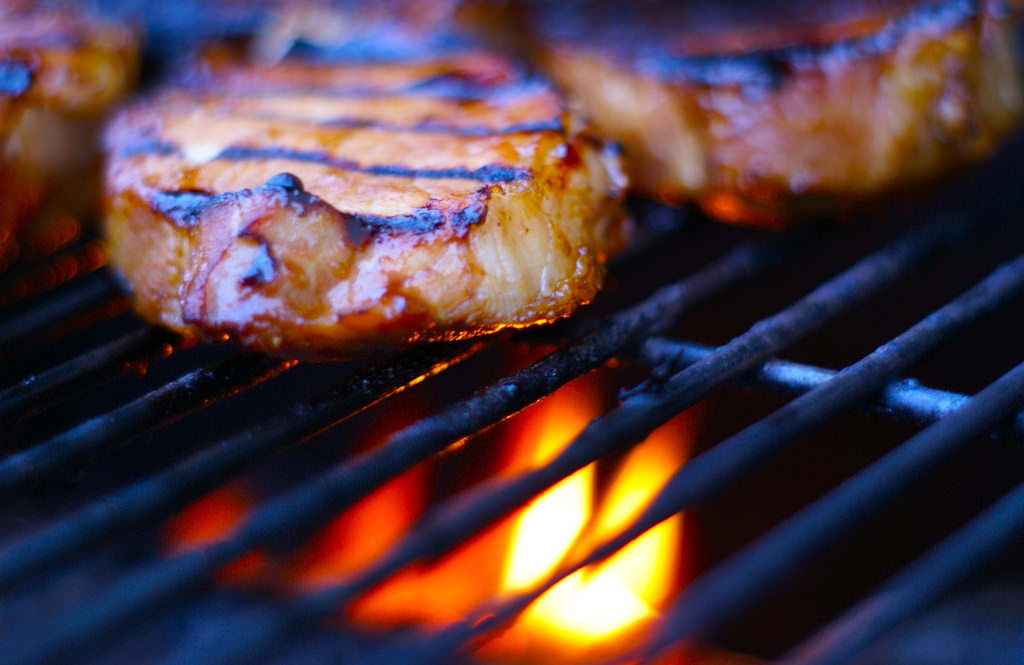 Pork chops- this simple recipe will make you look like a grilling rock star. Photo by Christopher Aloi, Creative commons- flikr.