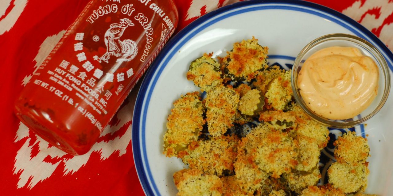 Panko Baked Fried Pickles