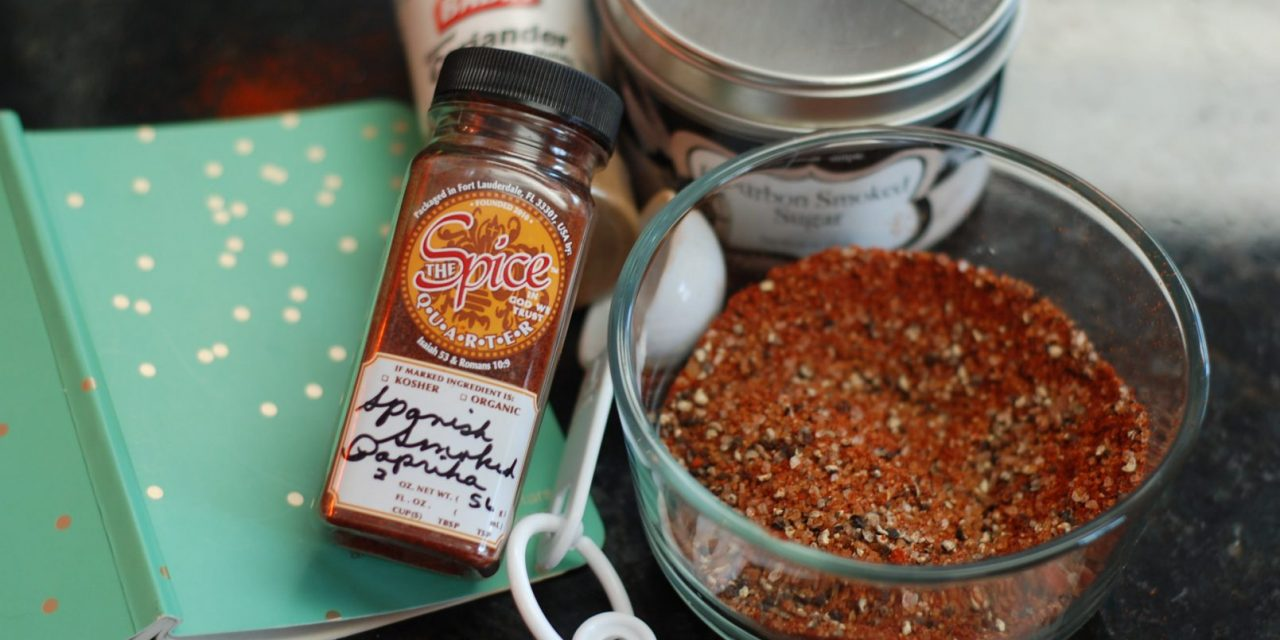 Smoked Paprika BBQ Rub