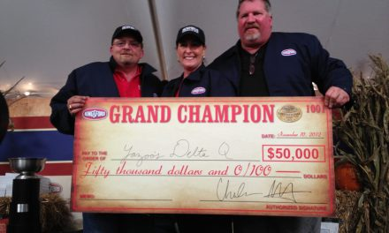 Melissa Cookston and Yazoo's Delta Q Win the First Annual Kingsford Invitational