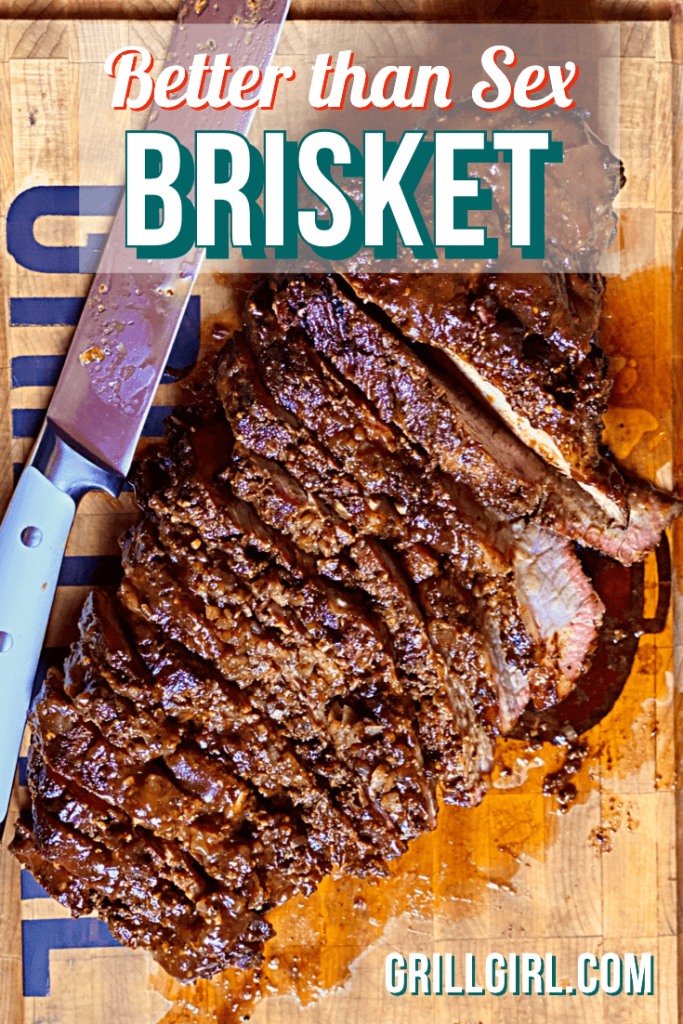 how to smoke a brisket point