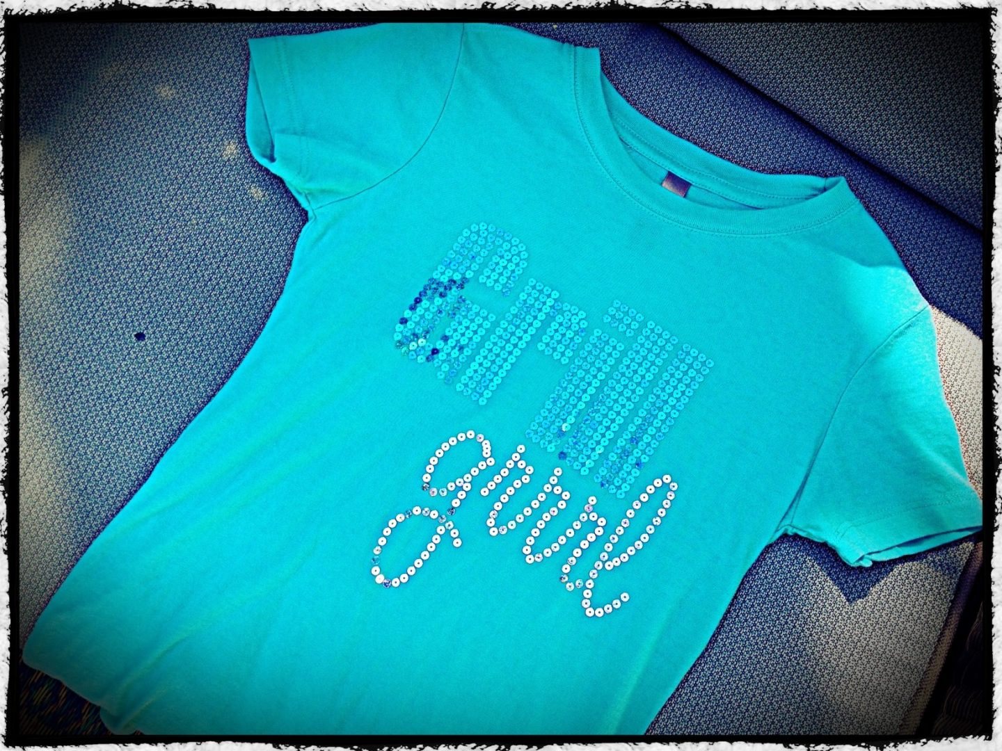 "The Grill Girl ""bling"" t-shirt- these sassy shirts say you mean business on and off the grill!"