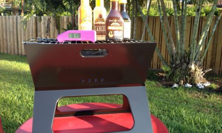 "Winner Announced: ""Spring Into Grilling Season"" Giveaway: Portable Grill, Thermapen and Grilling Marinades!"