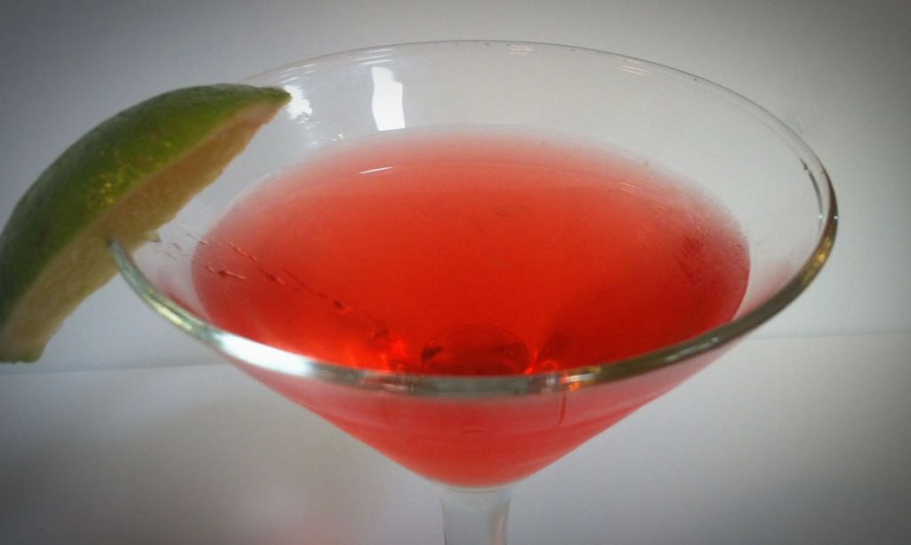 This Orange Cranberry Cosmo adds some sweetness to this classic cocktail.