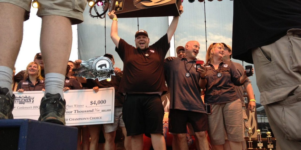 Congrats to Sweet Swine O Mine BBQ Team for Winning Grand Champion: Memphis In May 2013