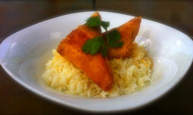 'Grill Grrrl Take Two' Recipes: Samosas With A Grilled Tandoori Chicken Filling
