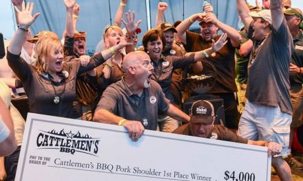 Scoring Q and Drinking Brew: Winning First Place in Pork Shoulder at Memphis In May
