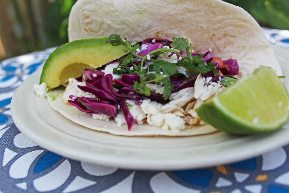 This Mahi Fish Taco makes the perfect light dinner after a day at the beach - Michelle Lara