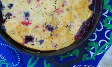 Red, White and Blue Cobbler