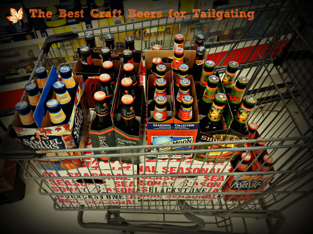 My FIRST fall beer shopping trip.