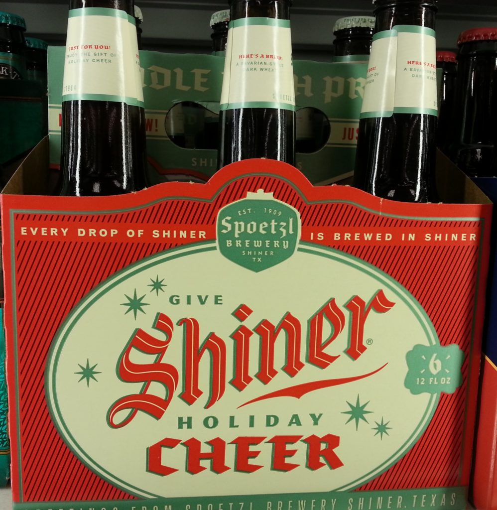 The Spoetzl Brewery's head brewer is my personal Santa.