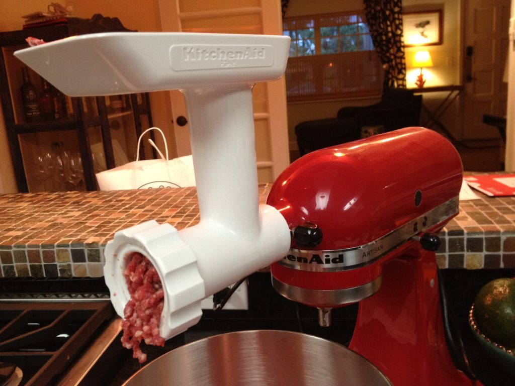 Kitchen Aid Meat Grinder Attachment