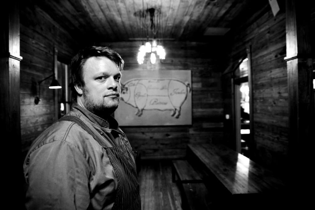 Pitmaster Tim Rattray of the Granary - Robert J Lerma