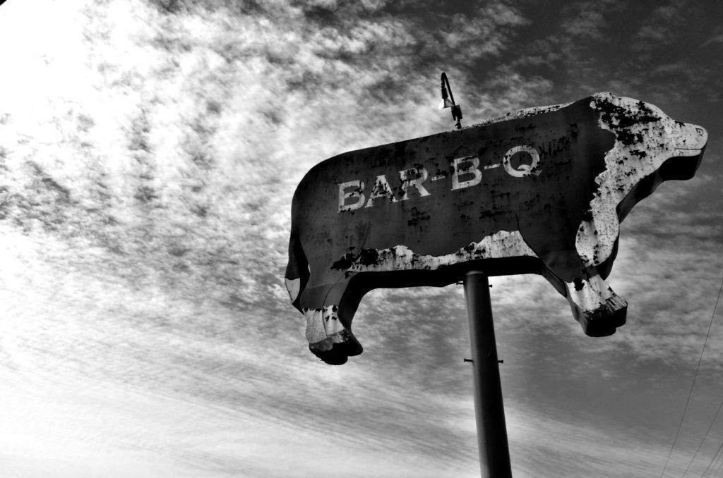 Vintage BBQ Sign - Robert J Lerma