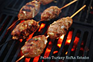 grill girl turkey kofta kebab