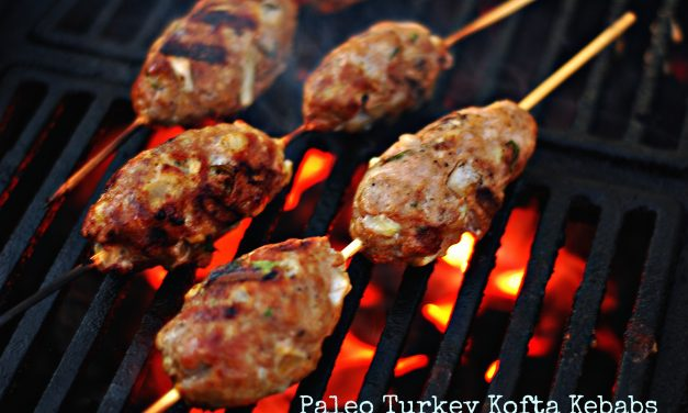 Turkey Kofta Kebabs