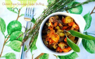 Grain Free Paleo Sausage Sage Stuffing