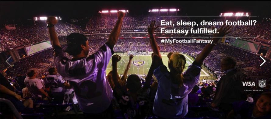Make your football fantasy a reality by entering the #myfootballfantasy contest.