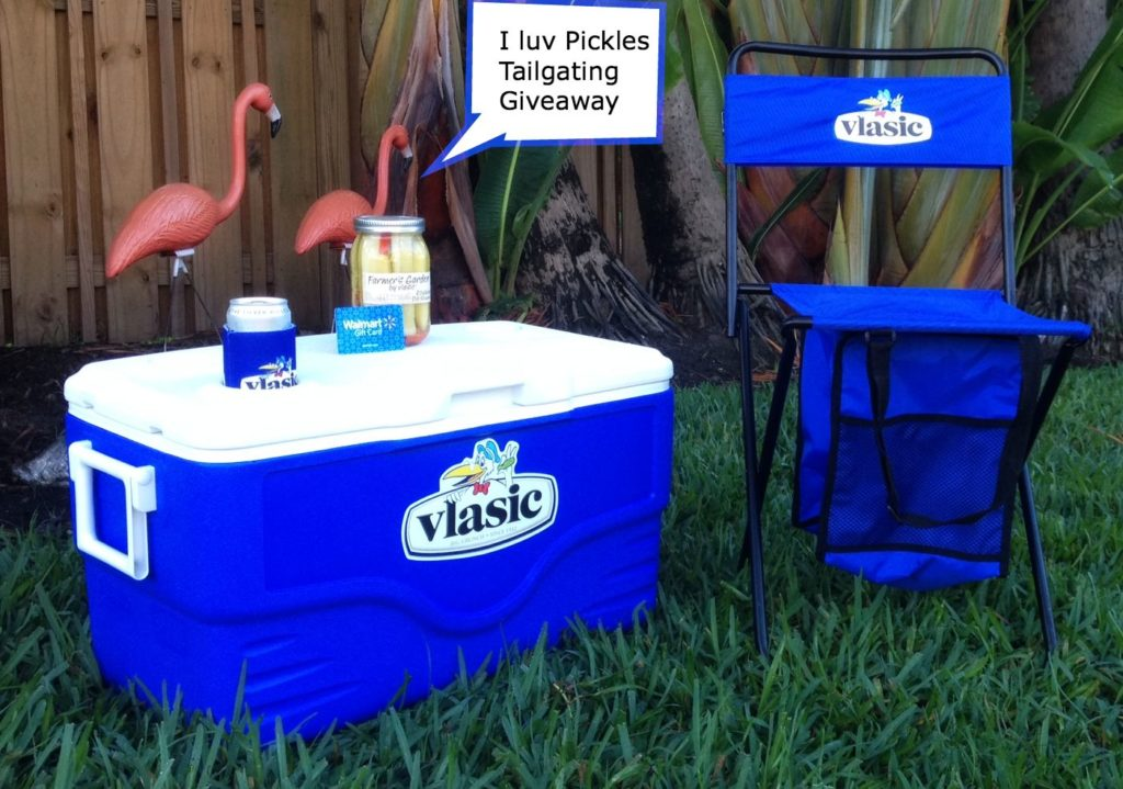 If you love to tailgate, this Vlasic Tailgating kit is for you!