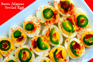 bacon jalapeno deviled eggs