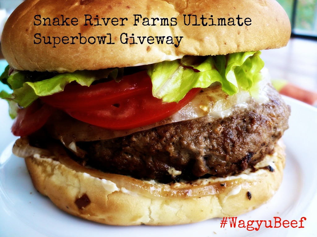 Host the ultimate #Superbowl party with this Waygu Beef and Korobuta pork sampler from Snake River Farms.