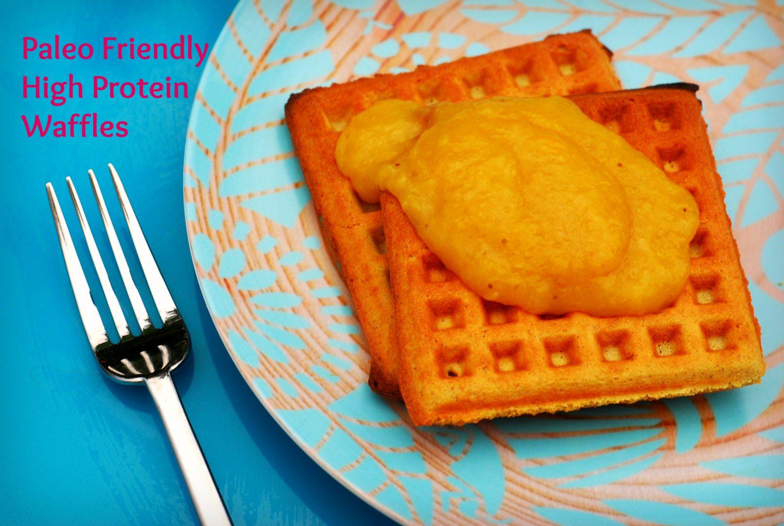 paleo friendly gluten free waffles