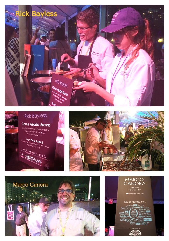 South Beach Wine and Food Fest Collage