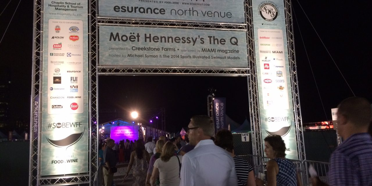 """""""The Que"""" Event at South Beach Wine and Food Fest, plus, A Festival Guide for Newbies"""