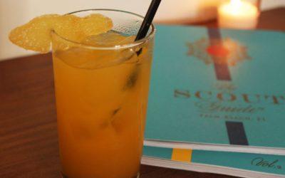 Black Tea Tangerine & Ginger Cocktail