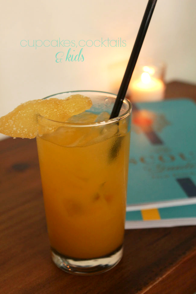 Chef Clay Conley of Palm Beach's Buccan mixes up a new refreshing cocktail - Michelle