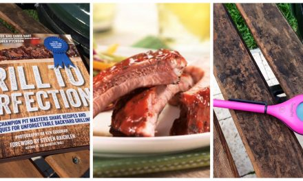 Grill To Perfection: Grilling Season Kick Off Giveaway- Cookbook, Kurobuta Ribs and Meat Thermometer
