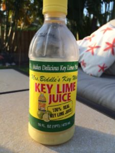 Mrs Biddles Key Lime Juice is a good key lime juice if you can find it.