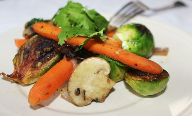 Serve this vegetable medley with simple grilled pork, chicken, or fish - Michelle Lara
