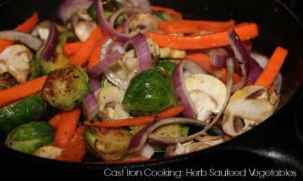 Cast Iron Cooking: Herb Sauteed Vegetables