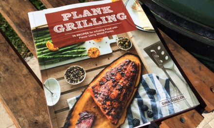 Plank Grilling Cookbook Giveaway