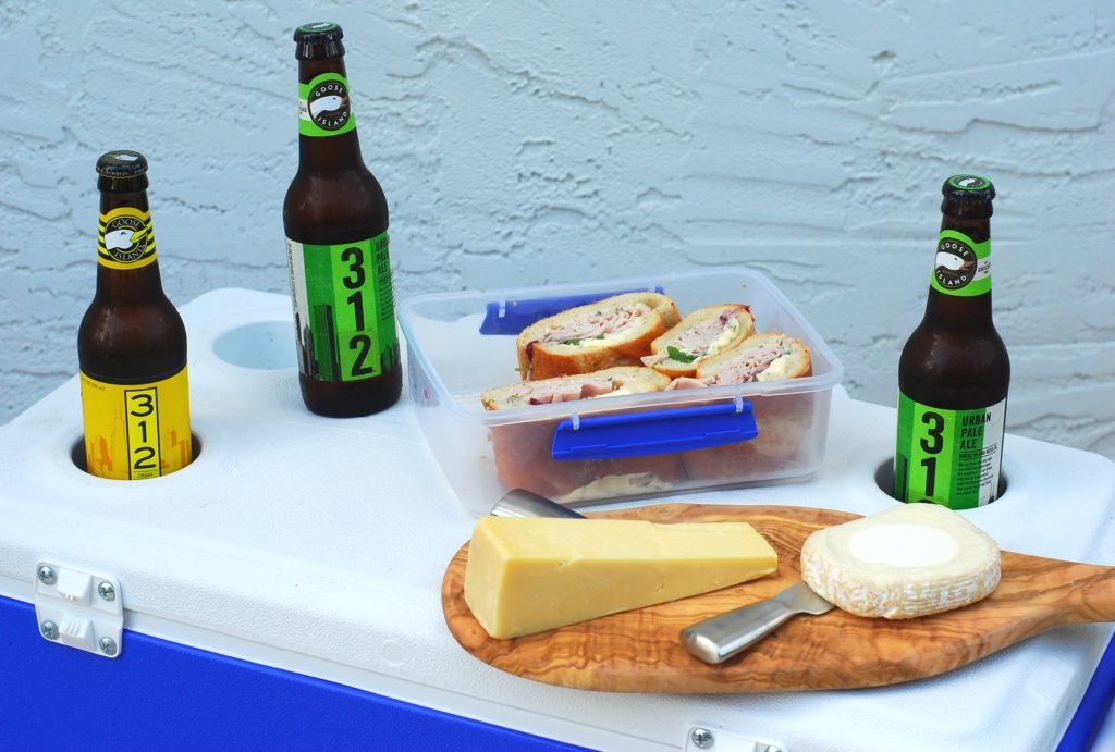 These sammies, paired with some nice beers from Goose Island, will liven up any picnic or tailgate.