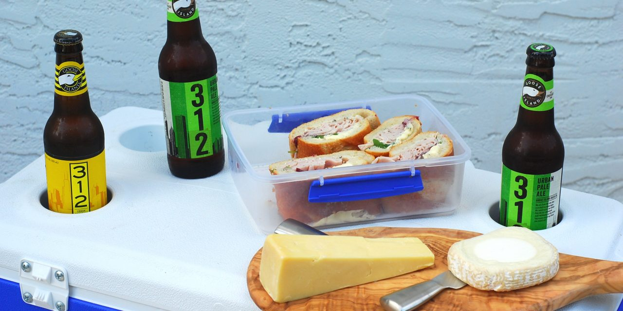 Turkey Sandwich with Brie and Cranberry: Picnic Perfect!