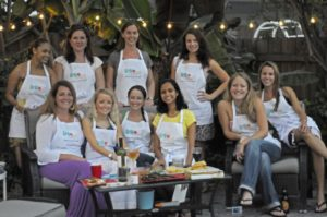 Pic of the first ever Women's Grilling Clinic back in 2010!