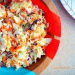 caribbean style coleslaw