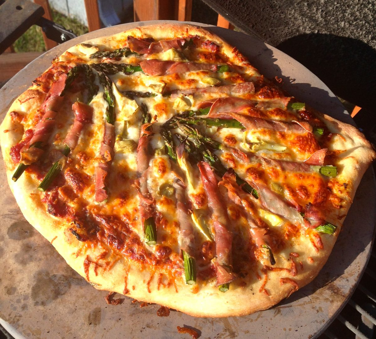 How To Grill Pizza On The Big Green Egg Grillgirl