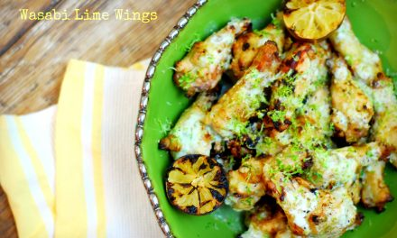 Wasabi Lime Chicken Wings