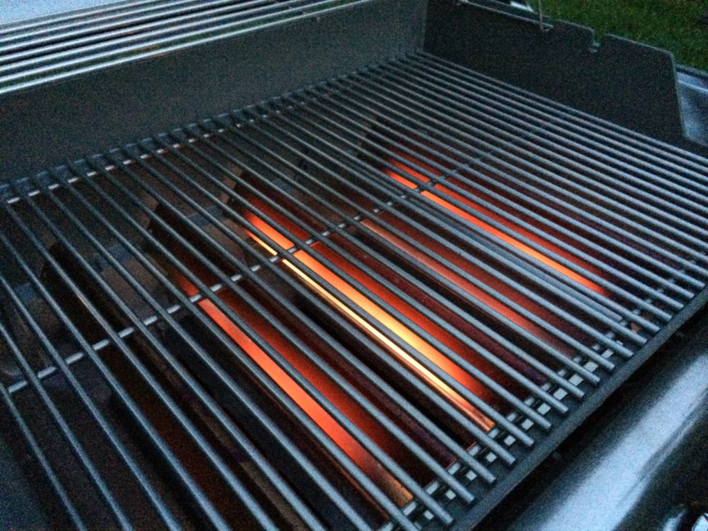 This grill offers serious BTUs!