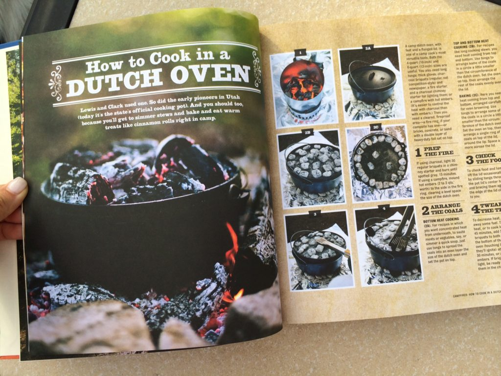 Ever cooked in a dutch oven- this book will show you how!