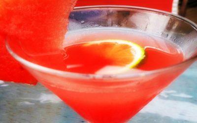 Watermelon Agua Fresca Cocktail