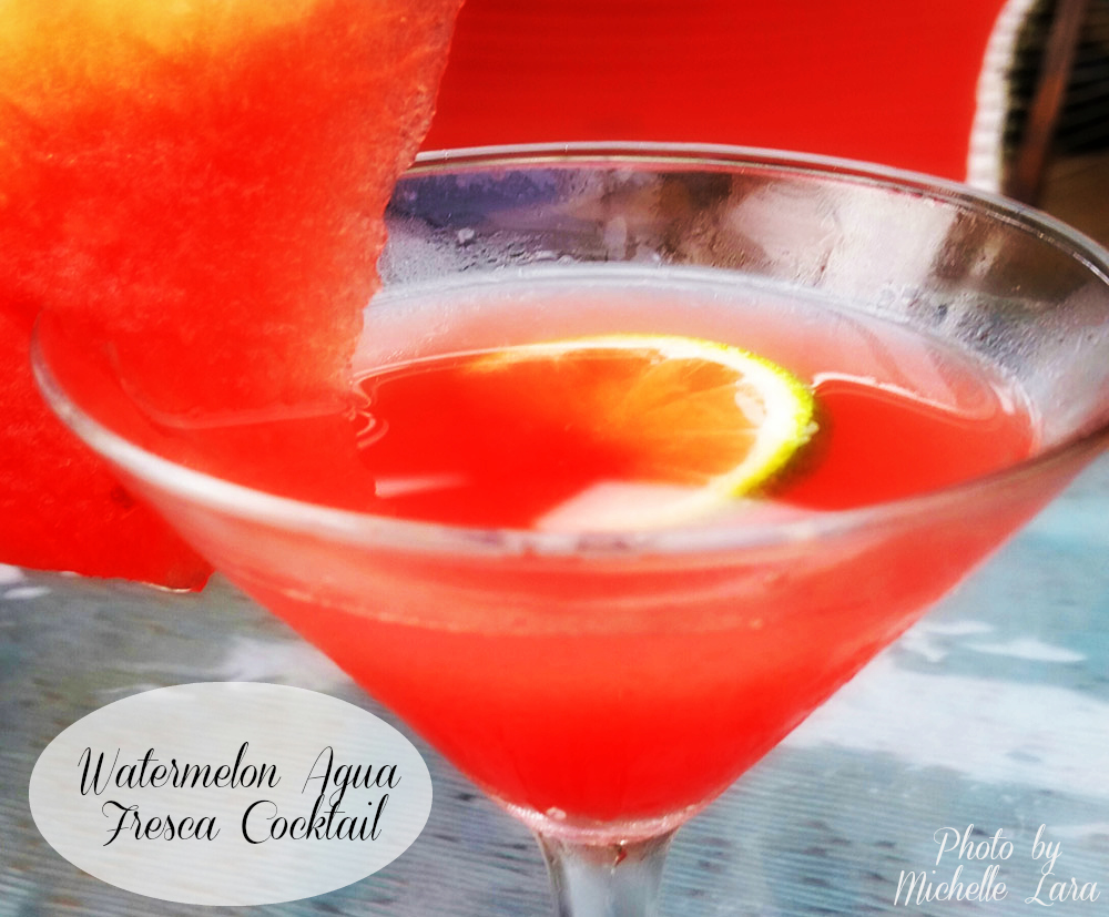 The perfect light and refreshing cocktail for the summer - Michelle Lara