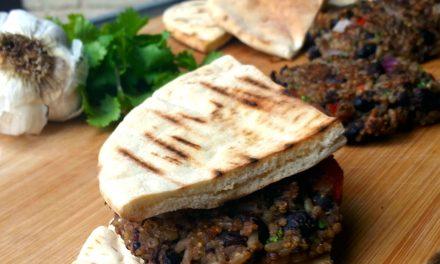 Vegetarian Friendly: Grilled Black Bean Mojo Burger