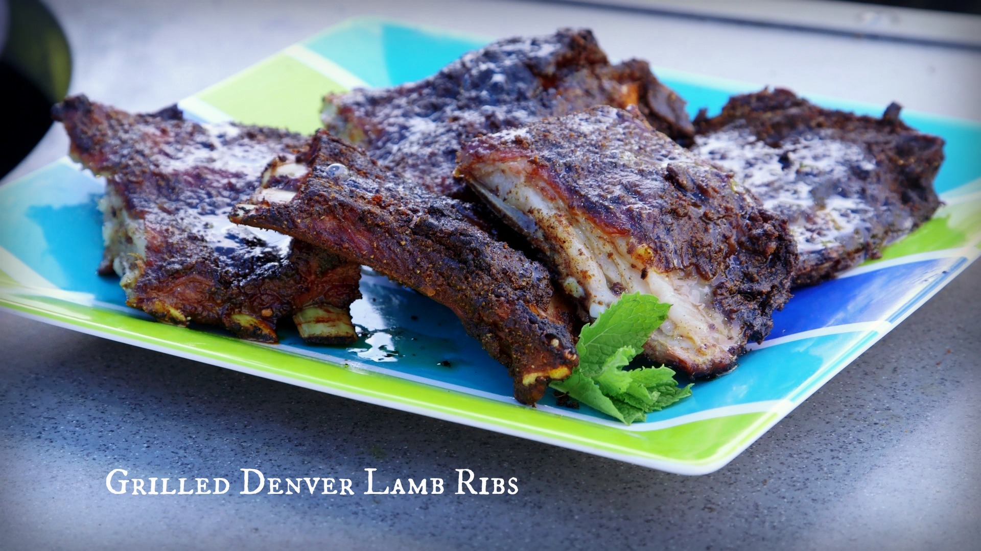 how to grill lamb ribs