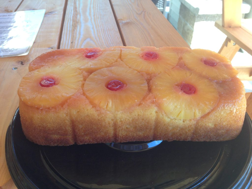 Pineapple Upside Down Cake on the Egg