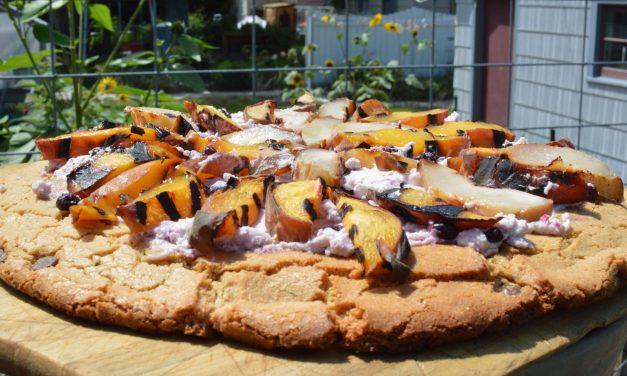 Gluten Free Grilled Dessert Pizza