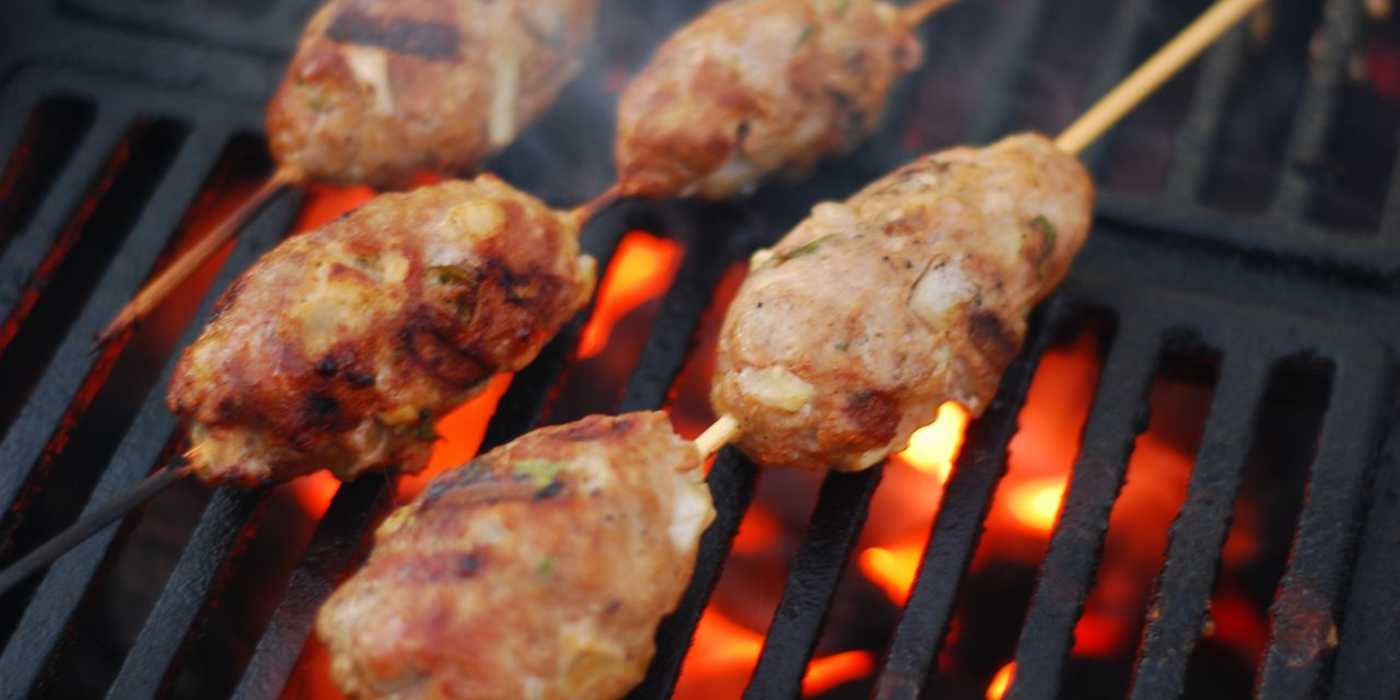 how to grill lamb_lamb kofta kebabs